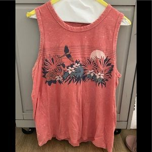Lucky Brand graphic tank top